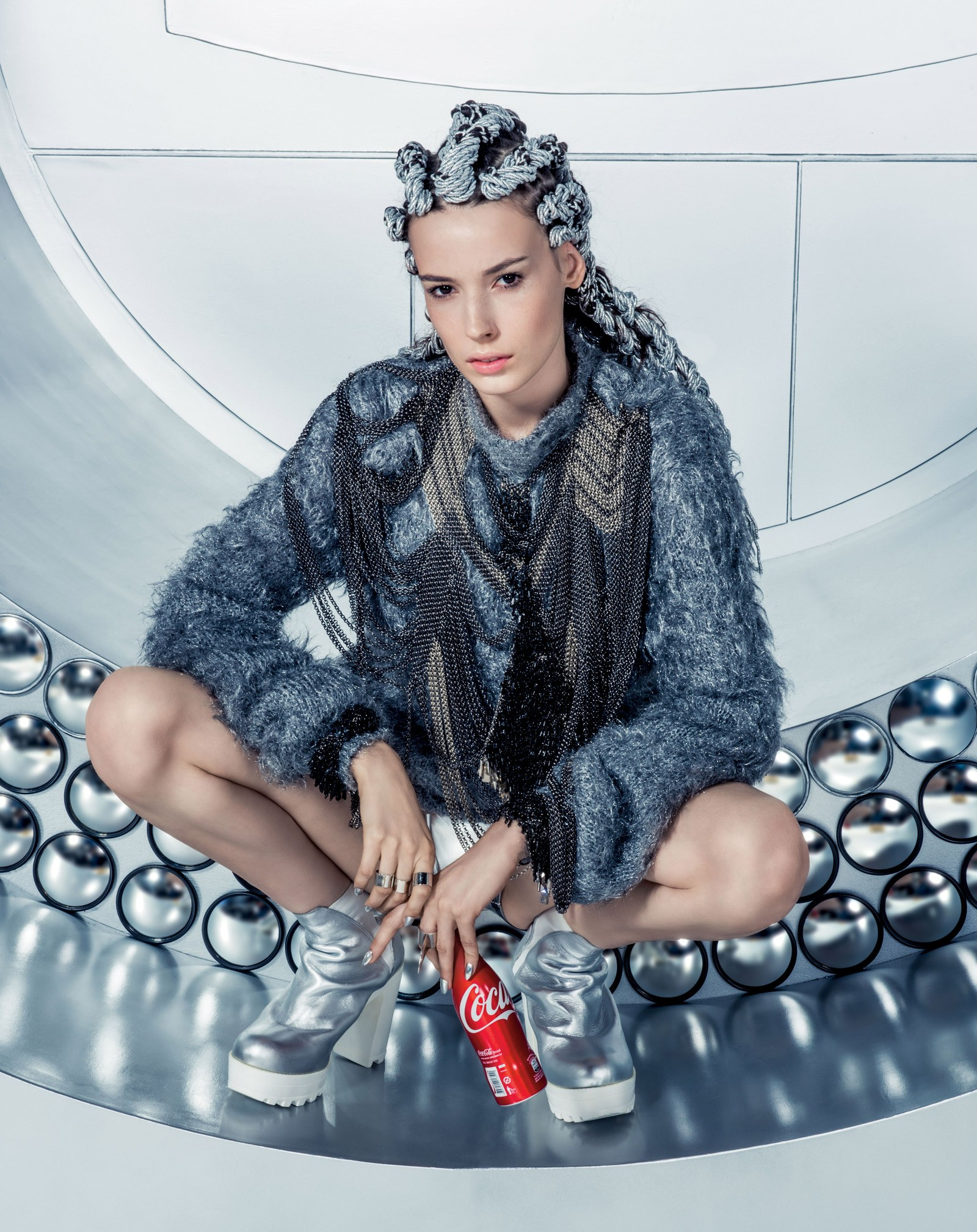 Promo Vogue - Cola-Cola (Foto: Divulgação)