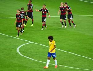 Dante Brasil Alemanha (Foto: Getty Images)