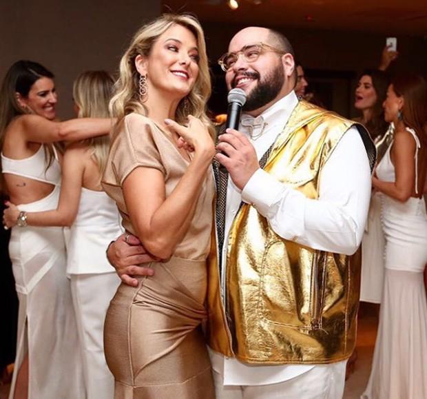 Ticiane Pinheiro e Tiago Abravanel (Foto: Manuela Scarpa/Brazil News)