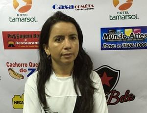 Gleide Costa, Botafogo-PB (Foto: Lucas Barros / GloboEsporte.com)