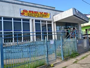 Servidores do INSS em Cruzeiro entraram em greve na última sexta-feira (17) (Foto: Adelcimar Carvalho/G1)