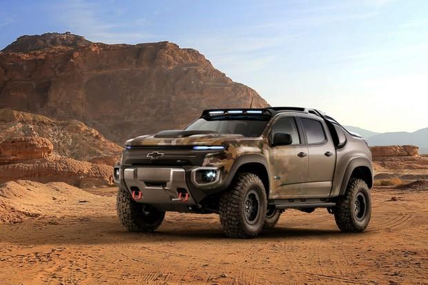 Pickup a hidrogêneo da Chevrolet (Foto: Divulgação)