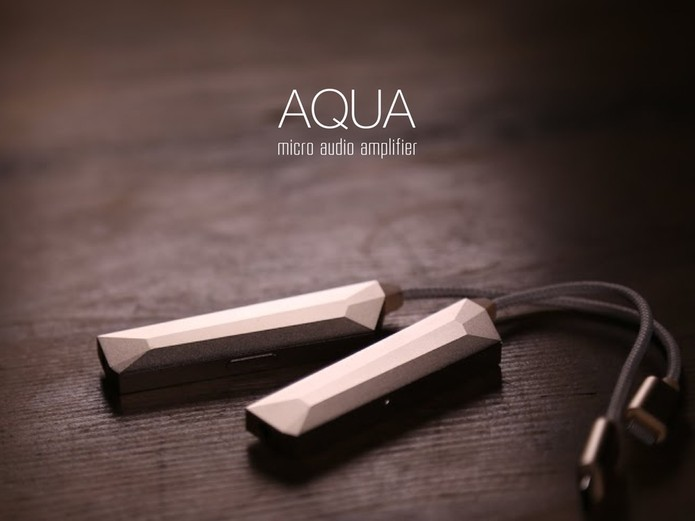 AQUA irá melhorar sua experiência de áudio no smartphone (Foto: Divulgação/Kickstarter)