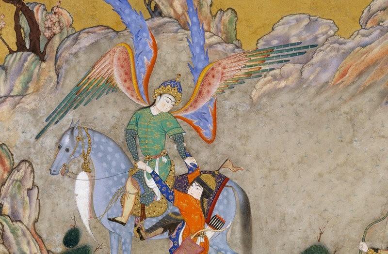 Anjo persa (Foto: Reprodução)