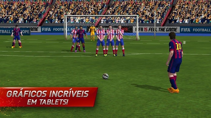 FIFA 15, game chega ao Android todo em português e com gráficos incríveis (Foto: Divulgação)