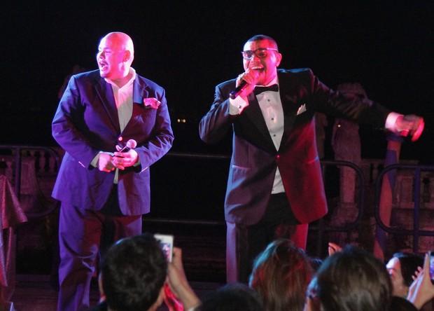 Naldo e Fat Joe (Foto: Getty Images/Divulgação)