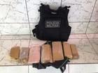 Motociclista descarta mochila com 8 kg de droga após ver PM em rodovia