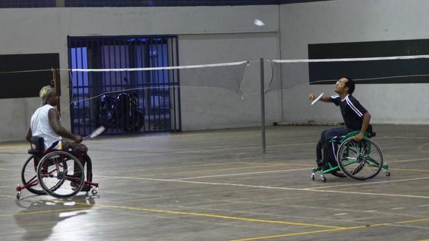 Sergipano de Badminton terá categoria adaptada (2) (Foto: Felipe Martins/GLOBOESPORTE.COM)