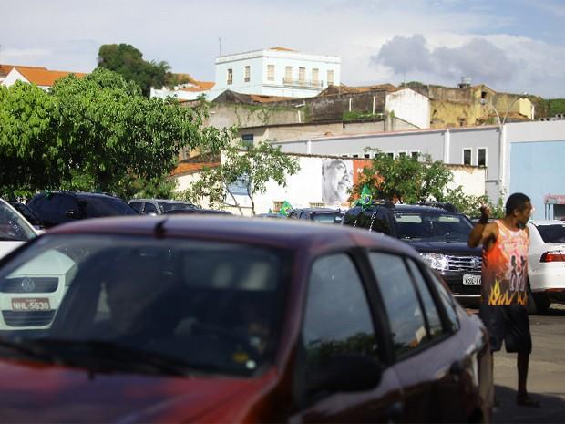 No sábado, 32 pessoas foram notificadas nos arraias da Lagoa da Jansen e Maria Aragão (Foto: Flora Dolores/O Estado)