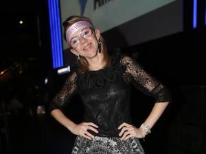Grazielli de Morais no show da Paula Fernandes em São Paulo (Foto: Iwi Onodera/EGO)