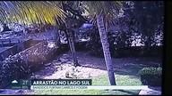 IVídeo mostra carro usado por ladrões na Península dos Ministros
