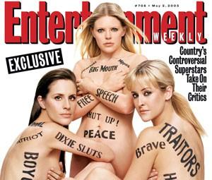 Capa da edição de maio de 2003 da 'Entertainment Weekly' (Foto: Divulgação)