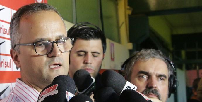 Roberto Melo vice de futebol Inter (Foto: Eduardo Deconto / GloboEsporte.com)