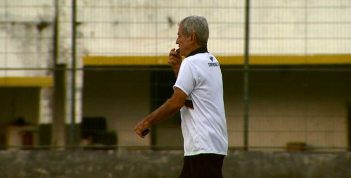 Varlei de Carvalho, técnico do Comercial (Foto: Reprodução/EPTV)