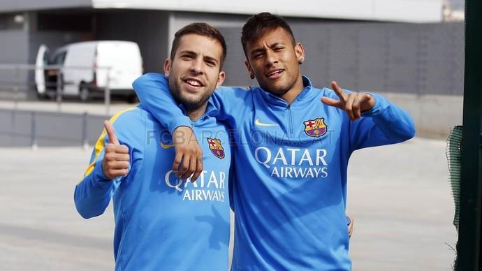 Neymar retorna ao trabalho no Barça (Foto: MIGUEL RUIZ /FCB)