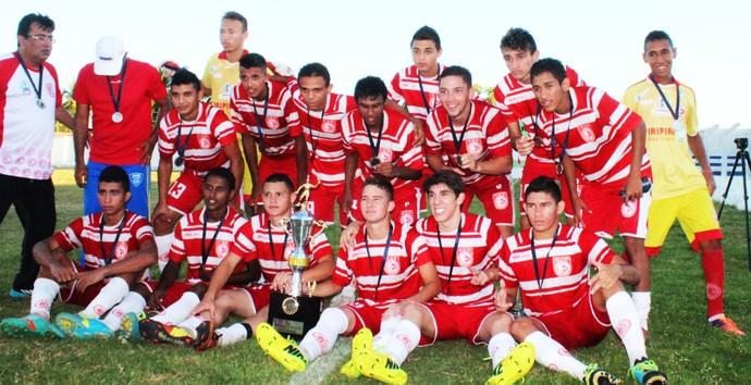Equipe do 4 de Julho no Piauiense Sub-19 (Foto: Daniel Cunha)
