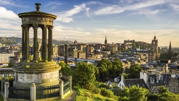 Edimburgo, na Escócia (Foto: Thinkstock)