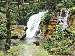 Cachoeira da Onça, em Presidente Figueiredo (Foto: Ramon Vicente AVG/Tv Amazonas)