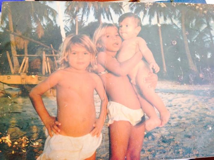 Silvana Lima - família (Foto: Arquivo Pessoal)