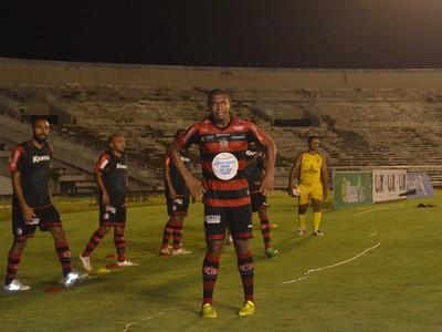 rodrigão, campinense (Foto: Edgley Lemos / GloboEsporte.com/pb)