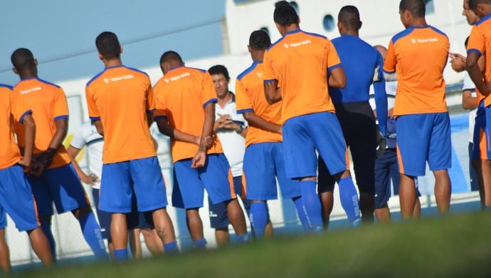 Confiança tem jogo decisivo pela frente na Série D  (Foto: Felipe Martins/GloboEsporte.com)