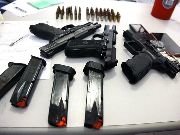 Policiais serão premiados por apreensões de armas no Maranhão (Foto: Biné Morais/O Estado/Arquivo)