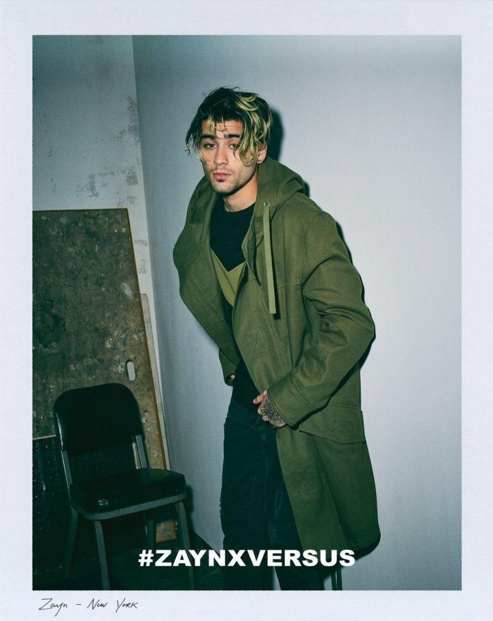 Zayn Malik estreia como estilista em campanha da Versus Versace (Foto: Divulgação)