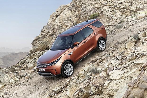 Novo Land Rover Discovery (Foto: Divulgação)