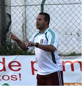 Rogério, técnico do Barra da Tijuca (Foto: Divulgação)