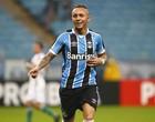 Grêmio x Coritiba, Brasileirão, Arena, Everton, gol