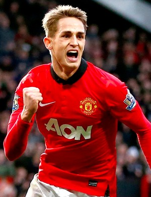 Adnan Januzaj comemora gol do manchester united contra o west ham (Foto: Reuters)