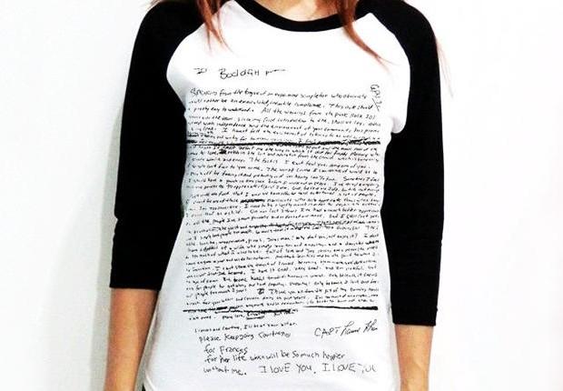 A camiseta que está a venda no eBay por U$ 25 (cerca de R$ 64)  (Foto: Reprodução)