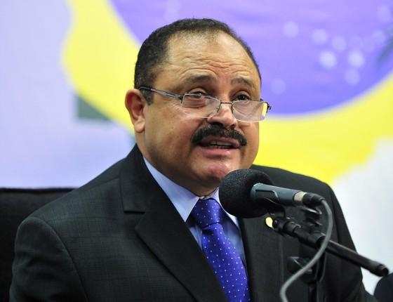 O presidente interino da Câmara, Waldir Maranhão (PP-MA) (Foto: Agência Câmara dos Deputados)