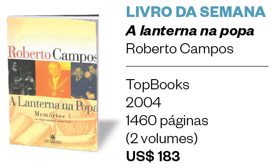 Livro da semana | A lanterna na popa (Foto: Divulgação)