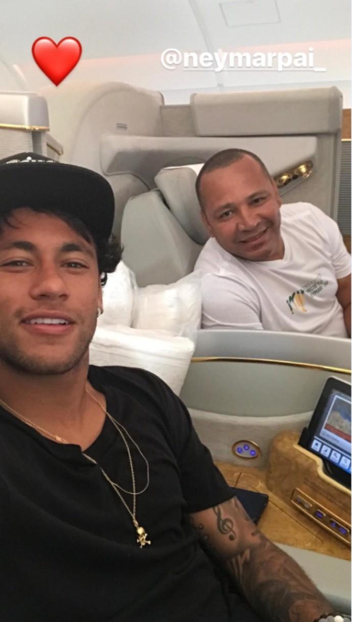 Neymar Dubai