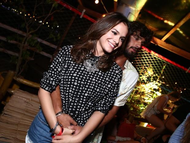 Bruna Marquezine e Marlon Teixeira em festa na Zona Sul do Rio (Foto: Raphael Mesquita/ Divulgação)