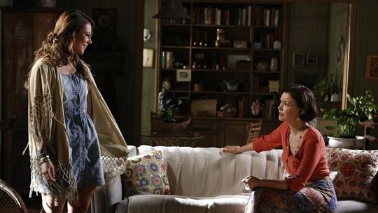 Melissa promete tornar a vida de Felipe um inferno
