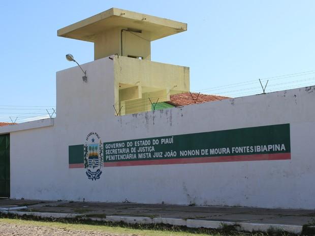Penitenciária Mista de Parnaíba (Foto: Patrícia Andrade/G1)
