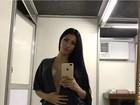 Simaria, da dupla com Simone, esbanja sensualidade em selfie