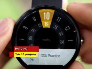 Relógio super tecnológico pode ser uma ótima opção de presente  (Foto: Reprodução/ TV Gazeta)
