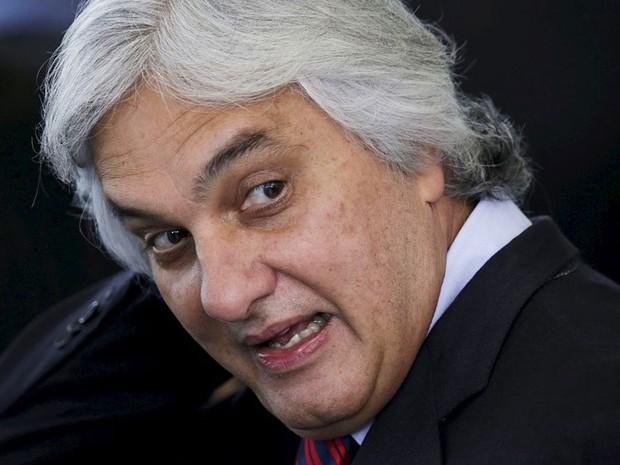 O senador Delcídio do Amaral (PT-MS), em foto de setembro de 2015 (Foto: Ueslei Marcelino/Reuters)