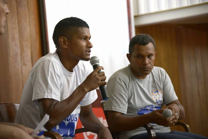 """Márcio Araújo é um dos organizadores dos encontros reliogiosos no Fla (Foto: Reprodução Facebook """"Craques da Paz"""")"""