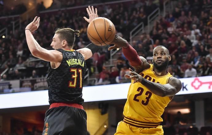 NBA,  Cleveland Cavaliers, Atlanta Hawks, Kevin Love, basquete (Foto: Reuters)
