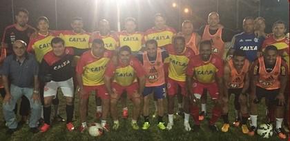 América-RN Flamengo pelada (Foto: Reprodução)