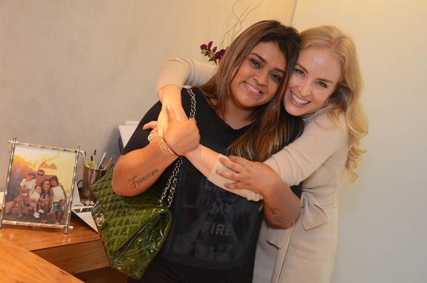 Preta Gil e Angélica (Foto: Ari Kaye/Divulgação)