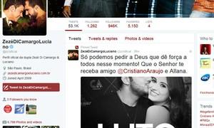 Cristiano Araújo: famosos lamentam morte do cantor e namorada