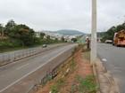 Começam obras para construção de passarela sobre MG-050 em Itaúna