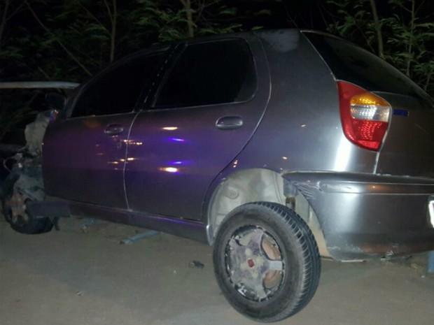 Segundo a polícia, o motorista provocou no acidente porque dirigia sob efeito de álcool (Foto: Joelson Angelo/Obaianao.com.br  )