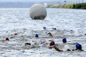 Primeira etapa das Maratonas Aquáticas será na praia da Graciosa (Foto: Márcio Di Pietro/Investco)