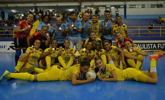São José Futsal Feminino goleia São Bernardo e é tetracampeão paulista 980a31c284698